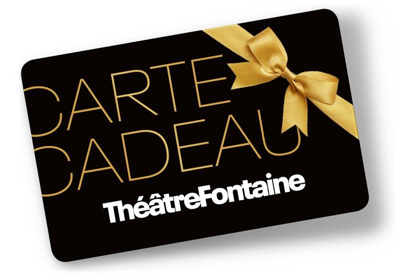 Visuel carte cadeau Théâtre Fontaine